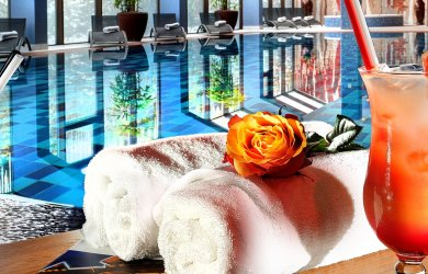 Pool and sauna world Plesnivec at Wellness Hotel Chopok ****