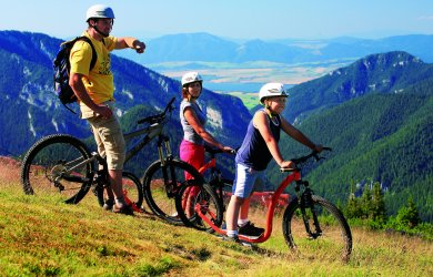 Biking and cycling Low Tatras