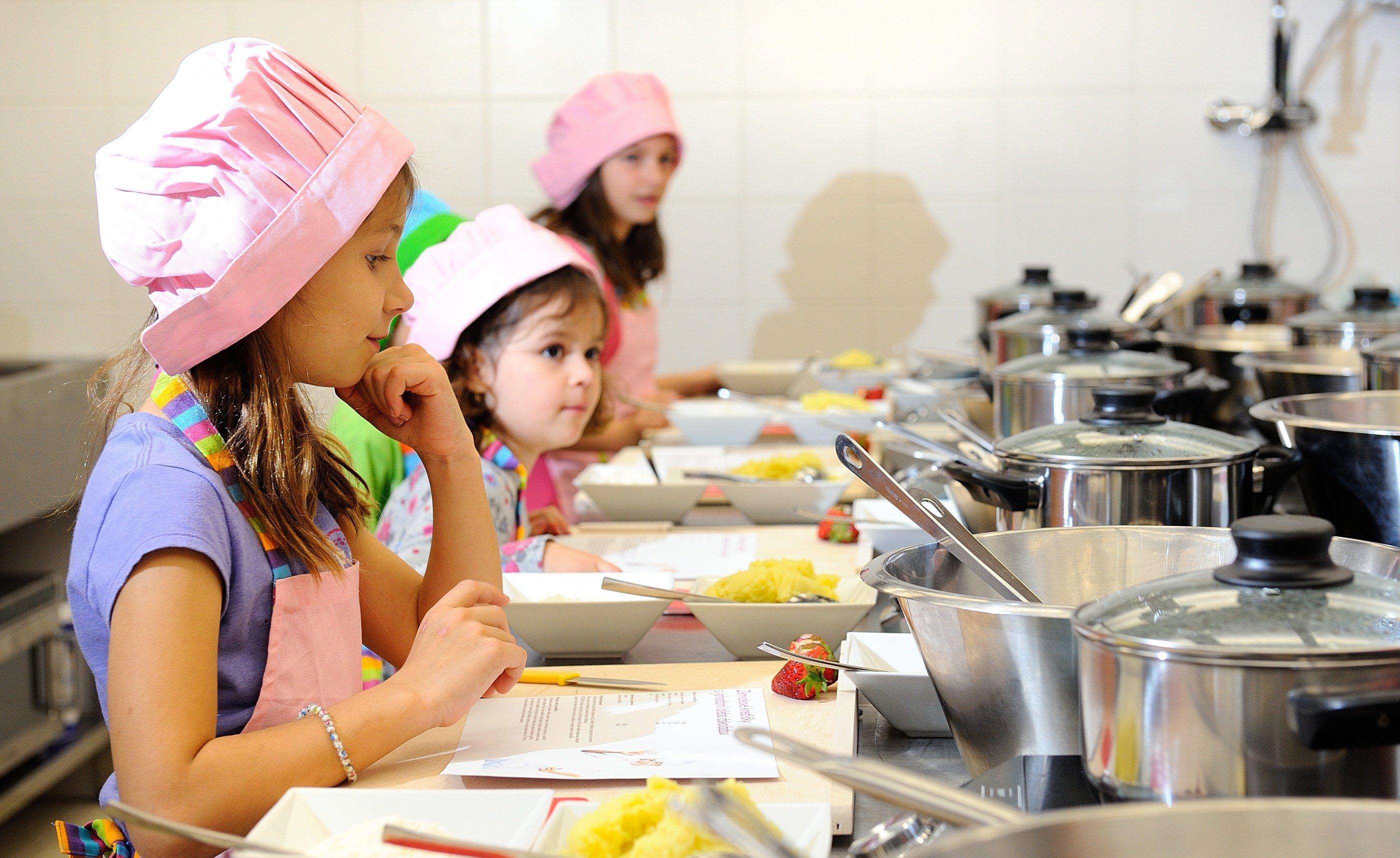Szkoła Gotowania Dla Dzieci W Wellness Hotelu Chopok