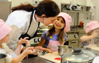 School of cooking for children at Wellness Hotel Chopok ****