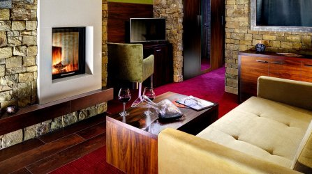 De Lux Family room Praslička for 5-7 persons with fireplace